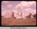 Farmers Union grain elevator, Minnewaukan, N.D.