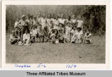 School children, Fort Indian Berthold Reservation