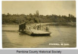 Red River ferry, Pembina, N.D.