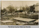 Church ruins after cyclone, Langdon, N.D.