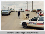 Possible traffic accident, Bismarck, N.D.