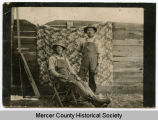 Early homesteaders, Mercer County, N.D.