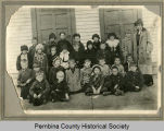 1st grade class and teacher, Cavalier, N.D.
