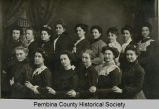 Women photographed by Solvason's Studio, Cavalier, N.D.