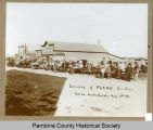 Delivery of PLANO Binders, Neche, N.D.