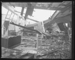 Damaged Sacred Heart Convent dormitory after tornado, Fargo, N.D.