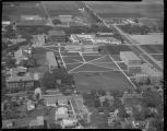 Aerial over North Dakota State Agricultural College, Fargo, N.D.
