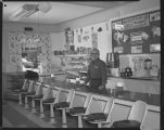 Erickson's Confectionery & Gift Shop interior, Rugby, N.D.
