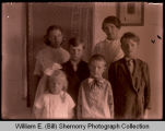 Children inside home, Epping, N.D.