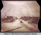Williston, lively town at turn of the century, N.D.