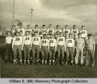 Williston Coyotes football team portrait