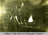 Olaf Howard, Blacksmith, Howard, N.D.
