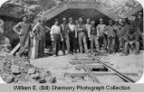 Workers Complete Tunnel on East Bank of Yellowstone River, near Buford, N.D.