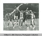 Williston Coyotes versus Grafton, 1963 North Dakota Class A basketball tournament, Grand Forks,...