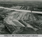 Garrison Dam, Aerial Progress Shot #3, N.D.