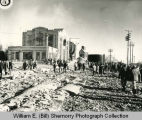 Great Northern Power Plant, Stack Toppled, Williston, N.D.