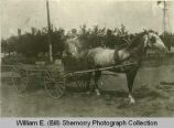 G.M. Hedderich's Delivery Wagon, Williston, N.D.