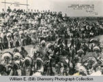 Indians Listening to General Scott's Address, Fort Union, N.D.