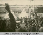 King George VI and Queen Elizabeth Visit