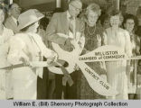 Ribbon Cutting, General Hagen and Williston Chamber of Commerce, Williston, N.D.