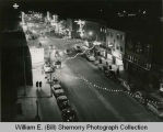 Williston, Main Street Looking South, New Year's Eve, N.D.