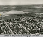 Williston aerial photograph, residential area, N.D.
