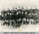 Williston Coyotes 1917 championship football team portrait
