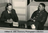 S. Th. Westdal Interviews First Sgt. Harry Kulas, Williston, N.D.