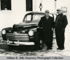 Francis Stockman Delivered First Post WWII Automobile to Matt Colwell, Williston, N.D.