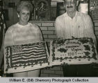 American Legion Anniversary Cakes, Williston, N.D.