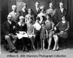 "Springbrook Production Company cast of ""Are You A Mason,"" group portrait, Springbrook, N.D."