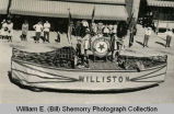 American Legion State Convention Parade, American Legion Auxiliary Float, Williston, N.D.