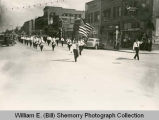 American Legion State Convention Parade, Marching Band, Williston, N.D.