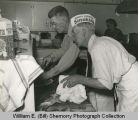 American Legion Cooks Joe Donohue and Ole Anderson, N.D.