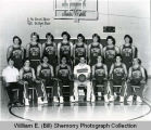 UND-Williston Tetons mens basketball team portrait