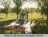 30th Anniversary Oil monument, Harmon Park, Williston, N.D.