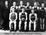 Hamlet High School basketball team portrait