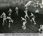 Williston Coyotes versus St. Mary's Demons, state championship, Bismarck, N.D.