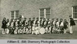 Grenora High School Band portrait