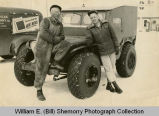 Snow bug, Duane Knutson and Clarence Gilbertson, Tioga, N.D.