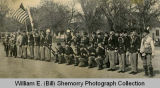 Fort Buford 6th Infantry Regiment Association on Central School grounds for World War I Memorial Parade,