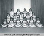 UND-Williston 1982-1983 Women's basketball team portrait