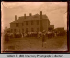 Mercer celebration at the Villa Militaire, Fort Buford, near Williston, N.D.