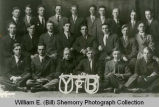 """Yoke of Brotherhood"" 1914 high school age Sunday School class portrait"