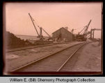 Lewis and Clark Bridge construction, Williston, N.D.