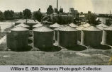 Grain Bins, Williston, N.D.