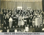 Choir on stage, Williston, N.D.