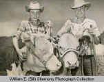 4-H boys with cattle, Williston, N.D.
