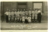 Williston baseball team portrait, Williston, N.D.