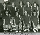 Wildrose Roses girls' basketball team portrait